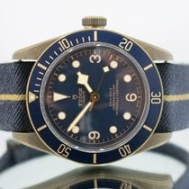 "Tudor Heritage Black Bay Bronze ""Bucherer"" with Box and Papers"