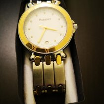 Pequignet Moorea Gold/Steel 38mm White No numerals