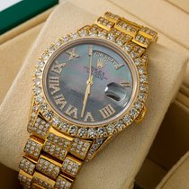 Rolex Day-Date 36 Yellow gold 36mm Black No numerals United States of America, New York, NewYork