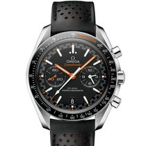 Omega Speedmaster Racing Steel 44.2mm Black No numerals United States of America, Iowa, Des Moines