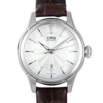 Oris Artelier Date Steel Silver
