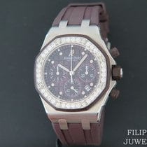 Audemars Piguet Royal Oak Offshore Lady Stål 37mm Lilla