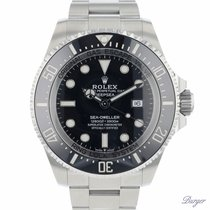Rolex Sea-Dweller Deepsea Steel 44mm Black