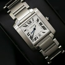 Cartier Steel 28mm Automatic 2302 pre-owned United Kingdom, Sheffield