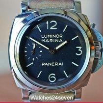 Panerai Luminor Marina 1950 3 Days Otel 47mm Negru Arabic