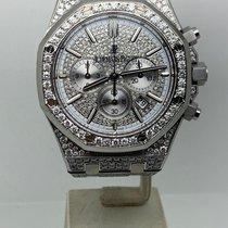 Audemars Piguet Royal Oak Chronograph Acier 41mm Argent Sans chiffres France, Paris
