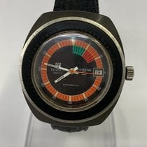 Tissot Plastic Automatic Black No numerals 40mm pre-owned