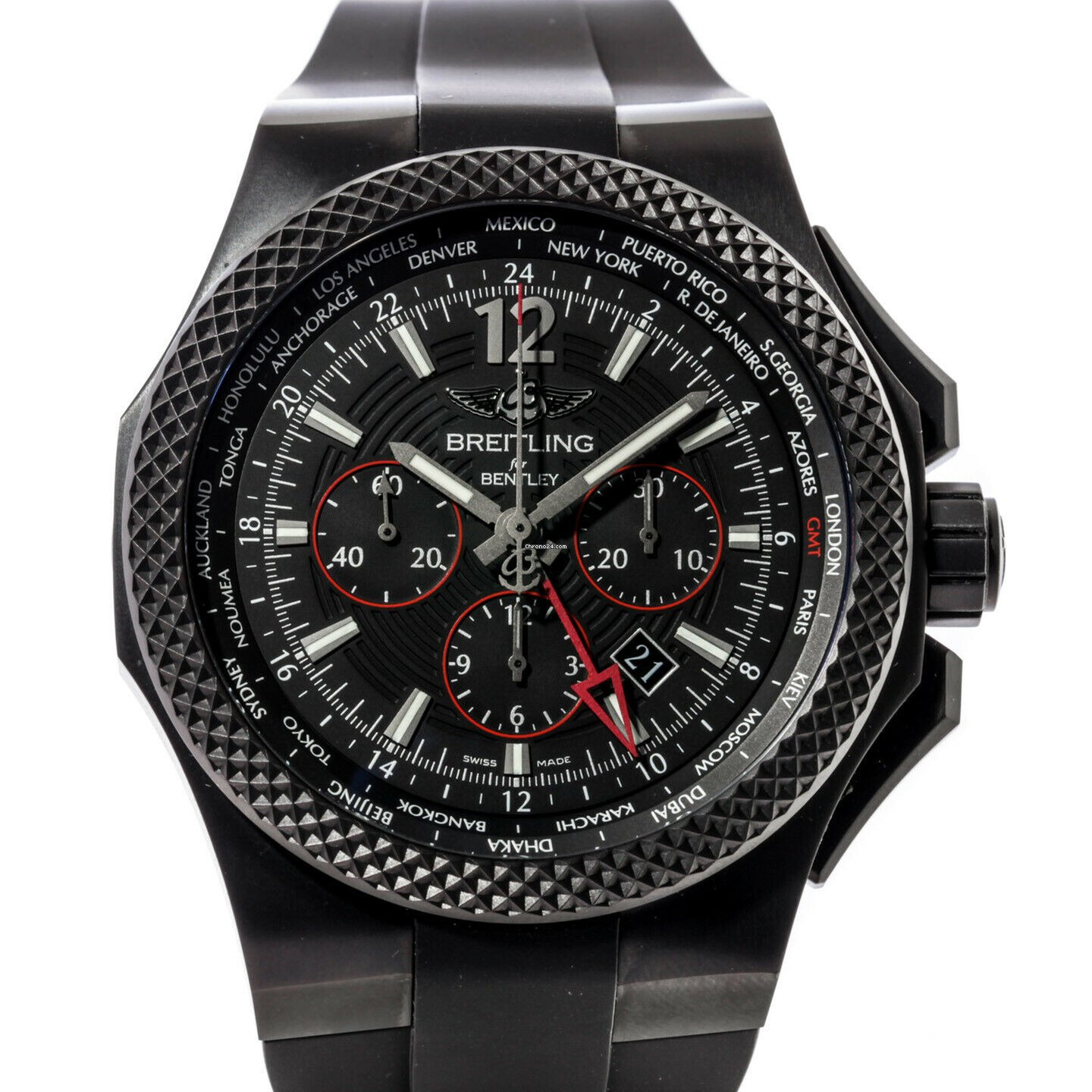 Breitling for Bentley B04 GMT Midnight Carbon Automatic