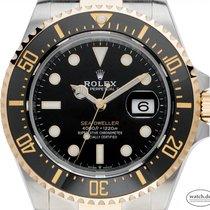 Rolex Sea-Dweller 4000 Acero y oro 43mm Negro