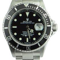 Rolex Submariner Date Zeljezo 40mm Crn