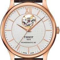 Tissot T-Classic Tradition Powermatic 80 Open Heart T063.907.3...