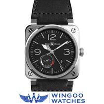 Bell & Ross - BR 03-97 Reserve De Marche Ref. BR0397-BL-SI...