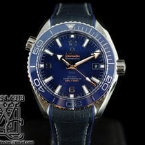 Omega Seamaster Planet Ocean Blue Steel 44mm