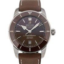 Breitling Superocean Heritage II 46 Chronometer Brown Dial