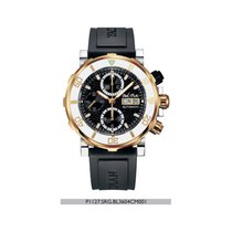 Paul Picot YACHTMAN III Chronograph -Stahl/ Gold