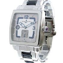 Ulysse Nardin 243-92-7/601 Quadrato Dual Time - Steel on...