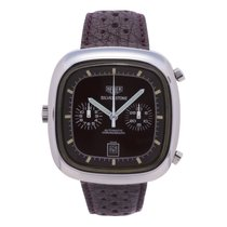 TAG Heuer Silverstone Steel 43mm Brown No numerals United States of America, New York, New York