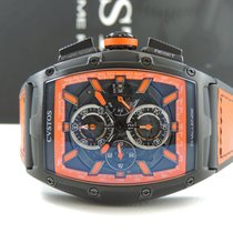 Cvstos new Automatic Small seconds Power Reserve Display PVD/DLC coating 59mm Steel Sapphire crystal