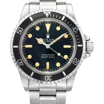 Rolex , Stainless Steel Wristwatch With Bracelet, Submariner,...
