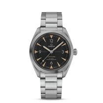 Omega Seamaster Railmaster Steel 40mm Black Arabic numerals United States of America, Iowa