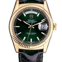 Rolex DayDate Green 118138