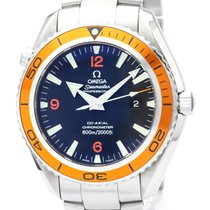 Omega Seamaster Planet Ocean Orange Automatic Watch 2208.50