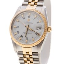 Rolex Oyster Perpetual Date 18KA Gold & Steel