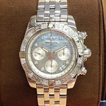 Breitling Chronomat 41 Steel 41mm Mother of pearl No numerals United Kingdom, Wilmslow