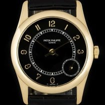 Patek Philippe 33mm Automatic 1998 pre-owned Calatrava Black