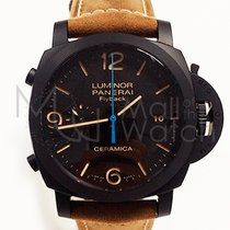 Panerai Luminor 1950 3 Days Chrono Flyback Cerâmica 44mm Preto