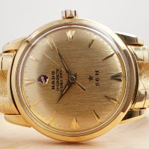 Rado Chronometer 35mm Automatic 1961 new Gold (solid)