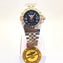 Breitling Starliner Steel 30mm Black Roman numerals United States of America, New York, Flushing
