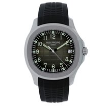 百達翡麗 Men's Aquanaut 40mm Steel on Rubber Strap Watch 5167A-001