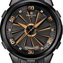 Perrelet 48mm Automatic 2017 pre-owned Turbine XL