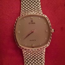 Cyma Ouro branco 30mm Quartzo Used. Very Fine - Been in Collection usado