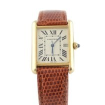 Cartier Tank Louis Cartier Yellow gold 33.7mm White Roman numerals