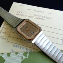 Mondia Dameshorloge 22mm Quartz nieuw Horloge met originele papieren 1975