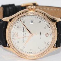 Baume & Mercier Clifton Rose gold 39mm White Arabic numerals