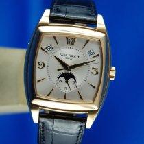 Patek Philippe Gondolo Gelbgold 51mm Silber Arabisch Schweiz, Roveredo