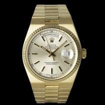 Rolex Day-Date Oysterquartz Жёлтое золото 36mm Цвета шампань
