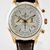 Breitling Transocean Chronograph new 2019 Automatic Chronograph Watch with original box and original papers RB015212/G738