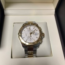 TAG Heuer Aquaracer Gold/Steel 43mm Silver No numerals United States of America, Texas, Austin