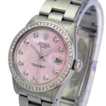 Rolex Oyster Perpetual Date Steel 34mm Silver No numerals United States of America, California, Sherman Oaks