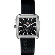 TAG Heuer Professional Golf Watch pre-owned 36.5mm Black Date Rubber