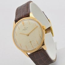 Zenith Rose gold Manual winding No numerals 35mm pre-owned Star