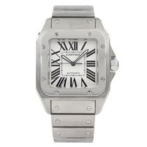 Cartier Santos 100 Steel 38mm Silver Roman numerals United States of America, Arizona, SCOTTSDALE