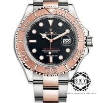 Rolex Yacht-Master 40 Gold/Steel 40mm Black No numerals