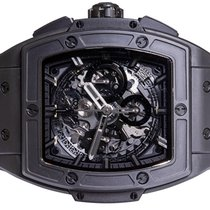 Hublot pre-owned Automatic 44,00mm Black Sapphire crystal 10 ATM