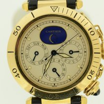 Cartier Pasha Full Calender GMT Moonphase