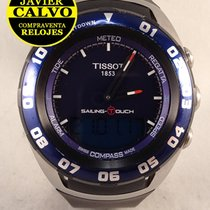 Tissot Sailing-Touch tweedehands 45mm Staal